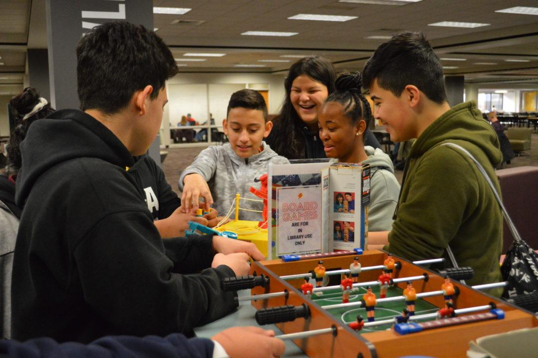 Detroit Students Tour Wayne State University