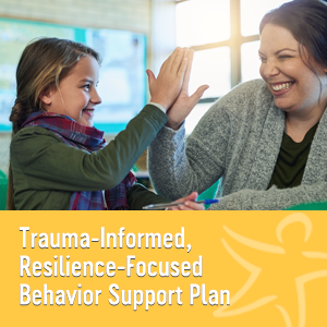 Trauma-informed resilience-focused behavior support plan