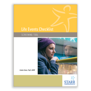 Life Events Checklist