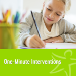 one minute interventions