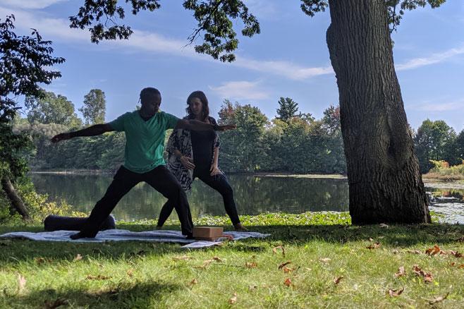 erin reed teaching yoga for self care